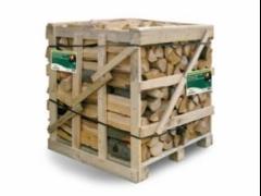 Krbové dřevo štípané tvrdé 1m3 obr.1