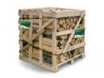 Krbové dřevo štípané tvrdé 1m3 obr.